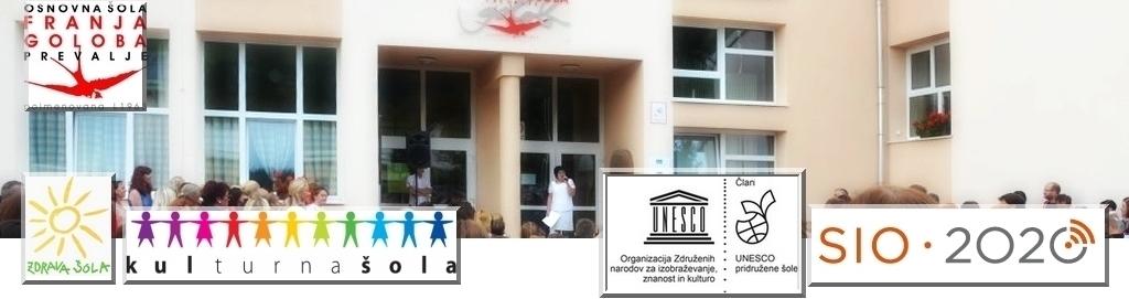 Osnovna šola FRANJA GOLOBA PREVALJE – novo spletišče v izgradnji (AVGUST 2018 >>>)