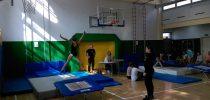Polfinalno tekmovanje v skokih z male prožne ponjave za osnovne šole