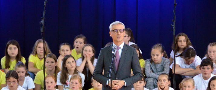 ZAKLJUČNA PRIREDITEV V ŠOL. LETU 2019/2019 – PRISOTEN TUDI MINISTER ZA ŠOLSTVO